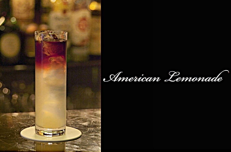 American Lemonadeカクテル完成画像