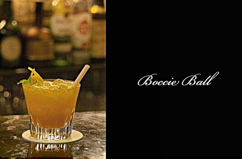 Boccie Ballカクテル完成画像