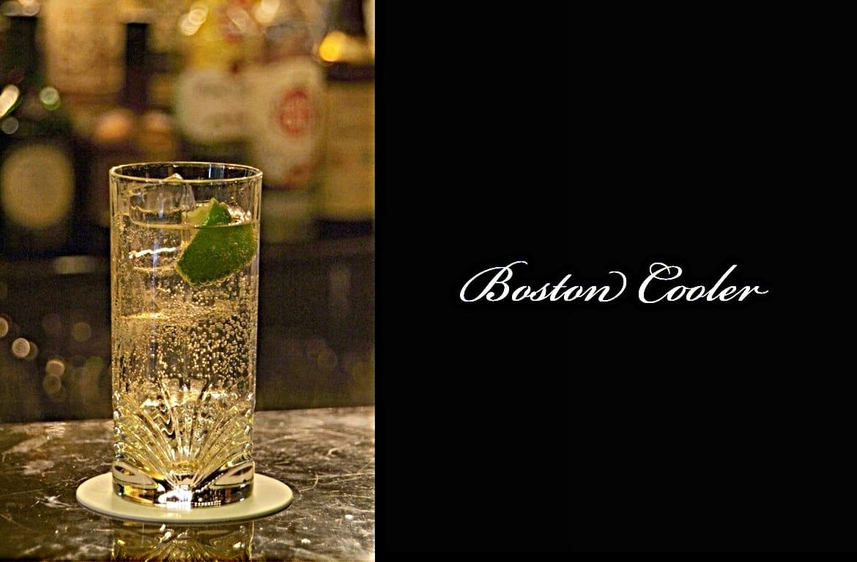 Boston Coolerカクテル完成画像