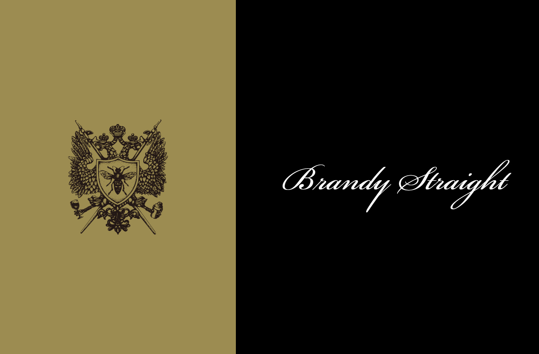 BrandyStraightカクテル完成画像
