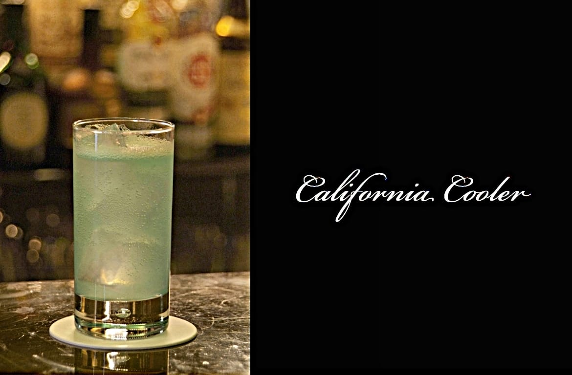 California Coolerカクテル完成画像