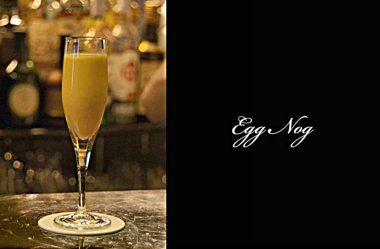 Egg Nogカクテル完成画像