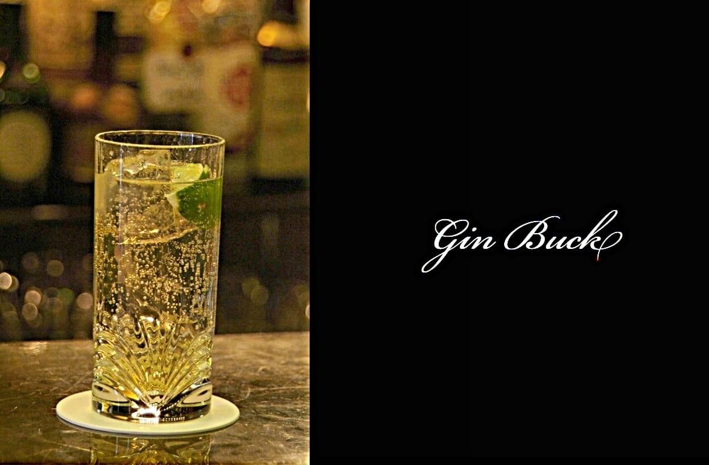 Gin Buckカクテル完成画像