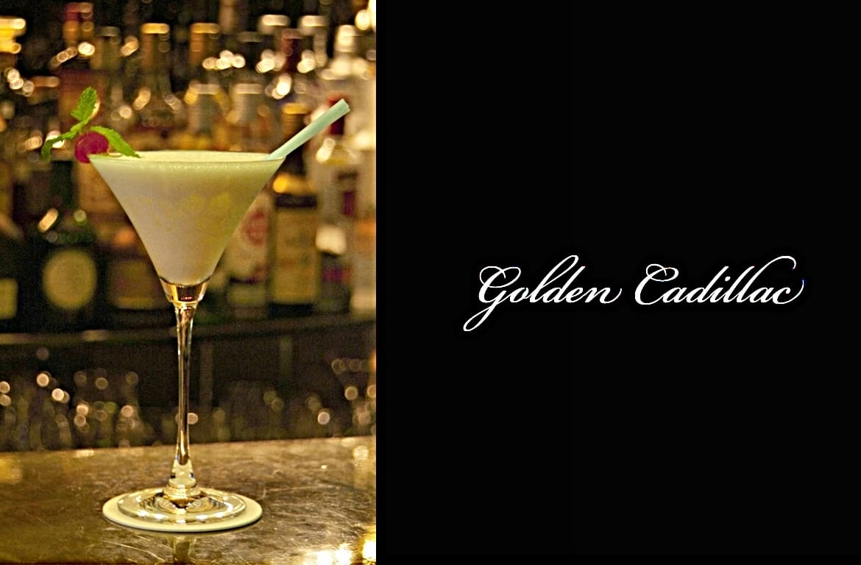 Golden Cadillacカクテル完成画像