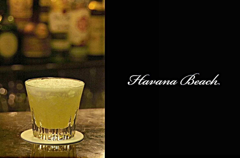 Havana Beachカクテル完成画像