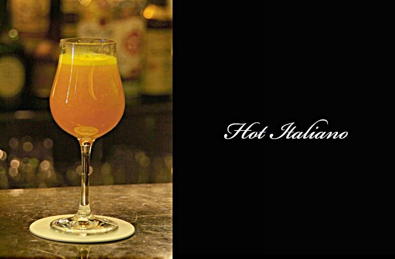 Hot Italianoカクテル完成画像