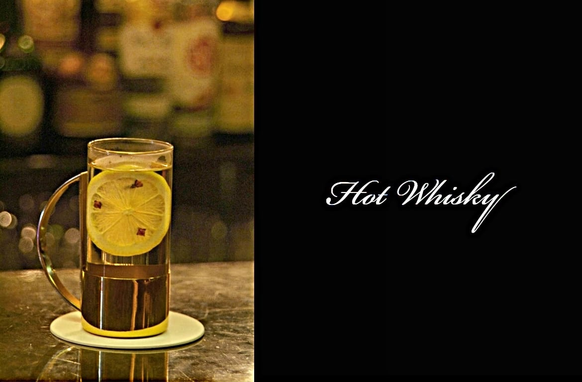 Hot Whiskyカクテル完成画像
