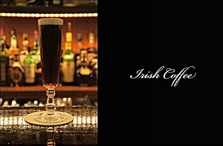 Irish Coffeeカクテル完成画像