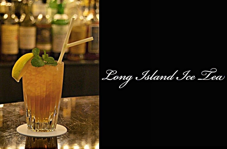 Long Island Ice Teaカクテル完成画像