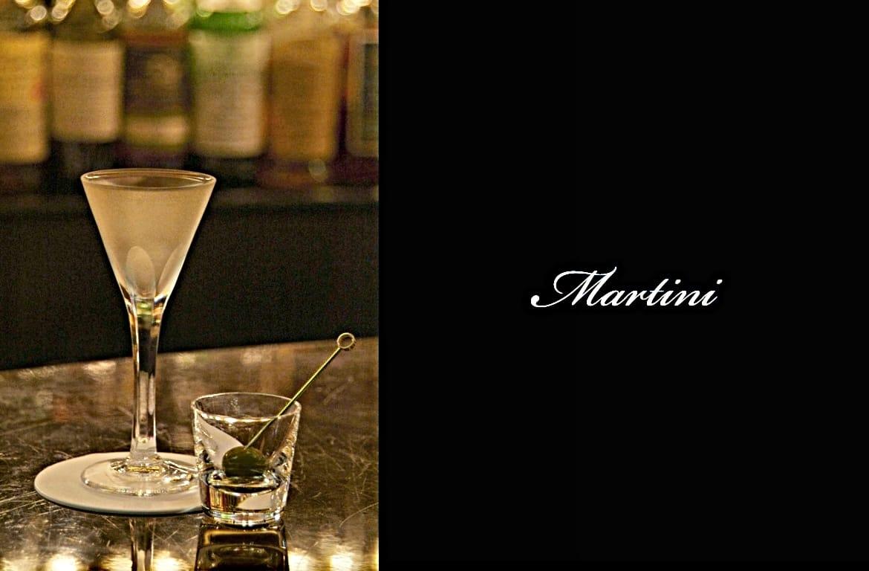 Martiniカクテル完成画像
