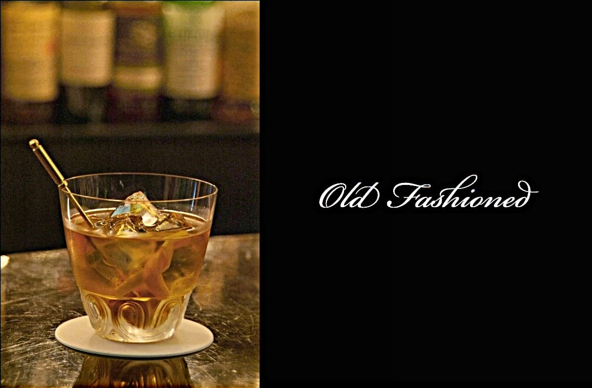 Old Fashionedカクテル完成画像