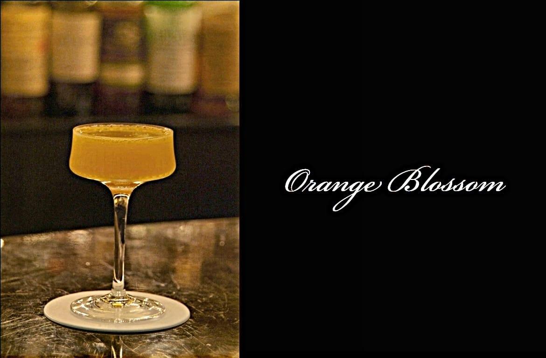 Orange Blossomカクテル完成画像