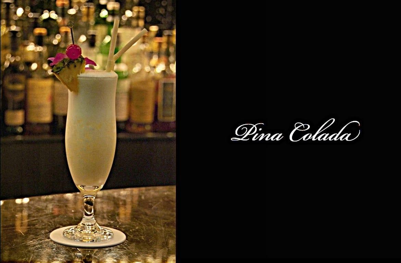 Pina Coladaカクテル完成画像