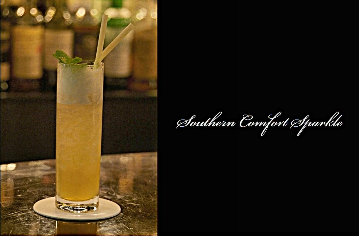 Southern Comfort Sparkleカクテル完成画像