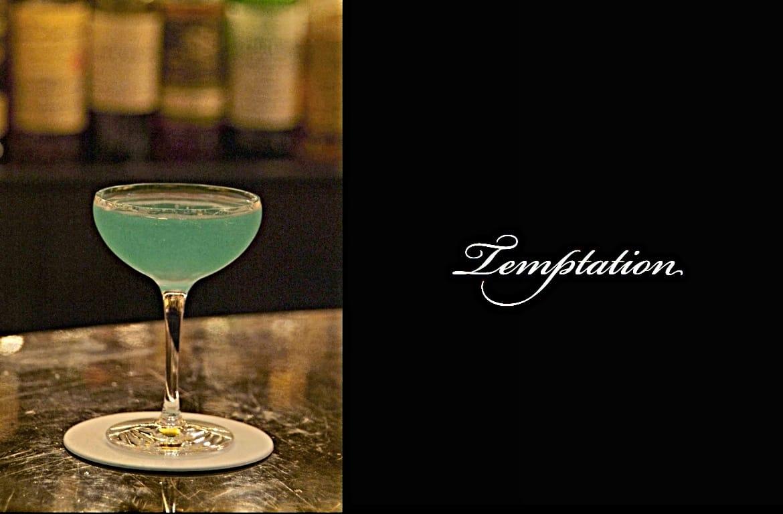 Temptationカクテル完成画像