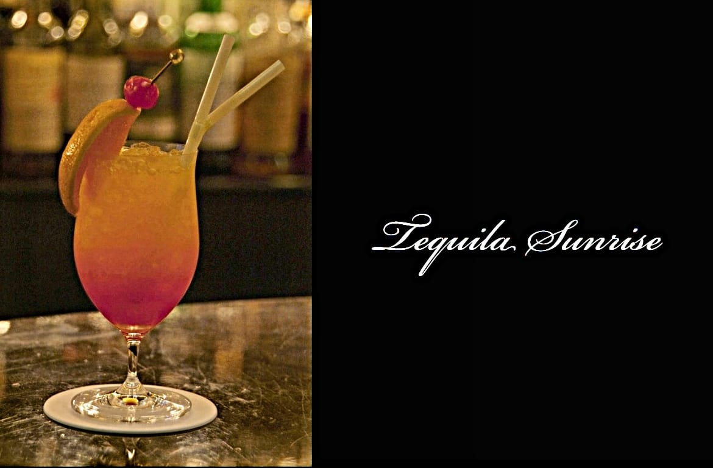Tequila Sunriseカクテル完成画像