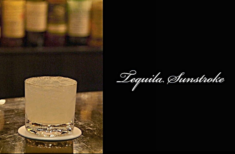 Tequila Sunstrokeカクテル完成画像