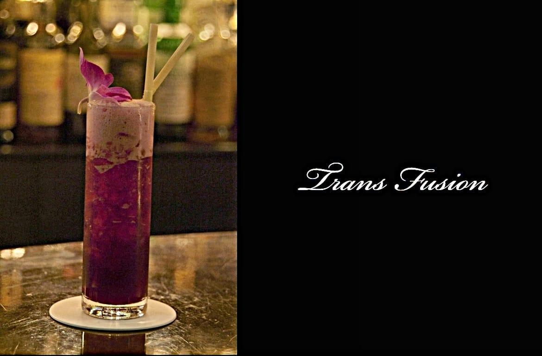 Trans Fusionカクテル完成画像