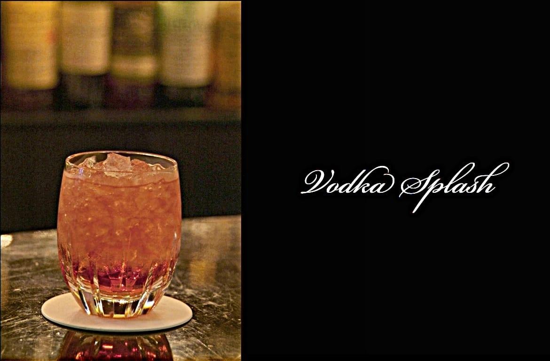 Vodka Splashカクテル完成画像