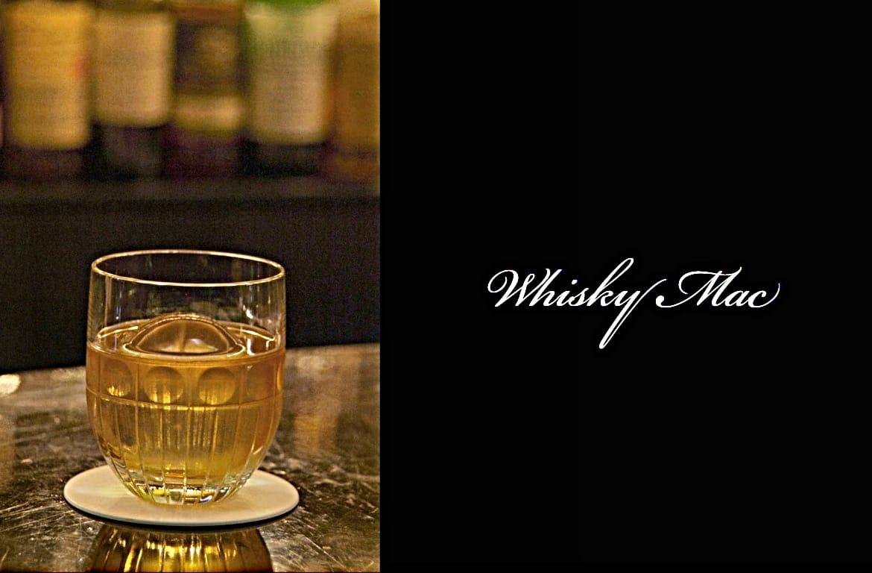 Whisky Macカクテル完成画像