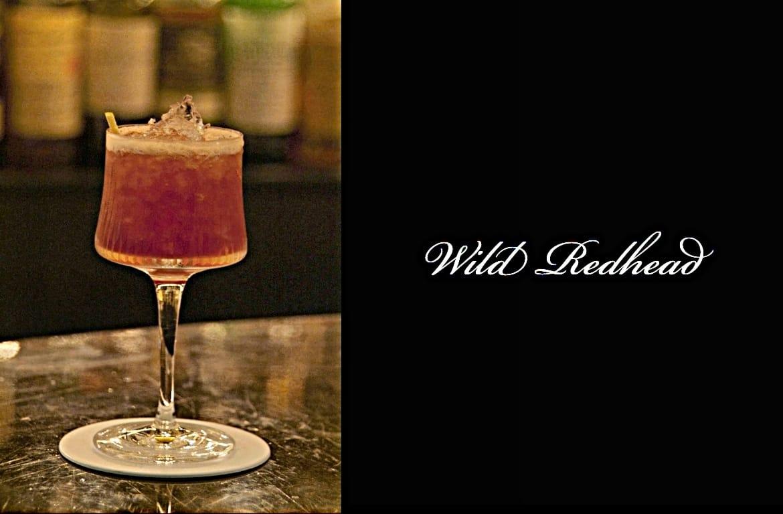 Wild Redheadカクテル完成画像